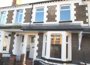 Thumbnail 4 bedroom terraced house for sale in Walker Road, Cardiff
