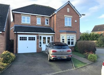 Thumbnail 4 bed detached house for sale in 11 Alderson Drive, Stretton, Burton-On-Trent, Staffordshire