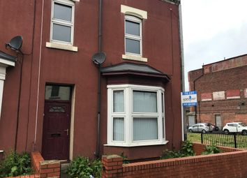 Thumbnail 4 bed end terrace house to rent in York Road, Hartlepool
