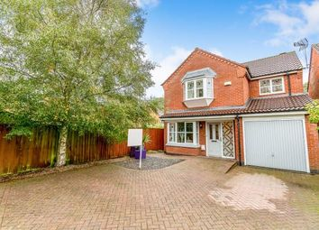 Thumbnail 4 bed detached house for sale in Maxwell Way, Lutterworth, Leicestershire