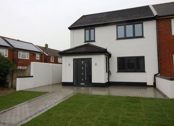 Thumbnail 4 bedroom semi-detached house to rent in Newton Abbot Road, Northfleet, Gravesend, Kent