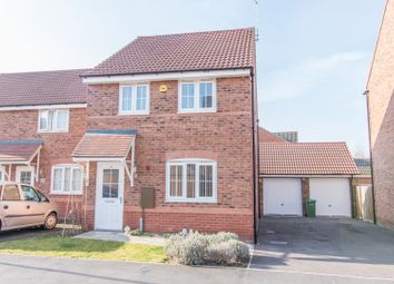 Thumbnail 3 bed detached house for sale in Keel Close, Wigston