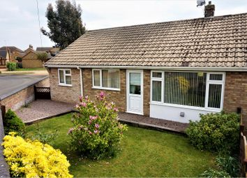 Thumbnail 2 bed semi-detached bungalow for sale in Mayfield Road, Peterborough