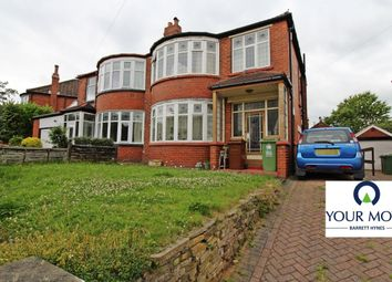 Thumbnail 3 bedroom semi-detached house for sale in Kingswood Crescent, Moortown, Leeds
