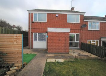 Thumbnail 3 bedroom end terrace house to rent in Mountcastle Walk, Chesterfield