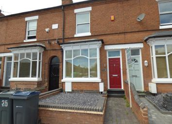 Thumbnail 3 bedroom terraced house to rent in Wood Lane, Harborne, Birmingham