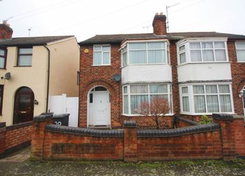 Thumbnail 3 bed semi-detached house for sale in Jellicoe Road, Leicester