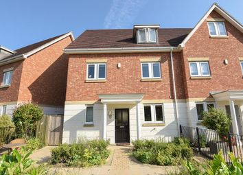 Thumbnail 4 bed town house for sale in Chobham, Woking