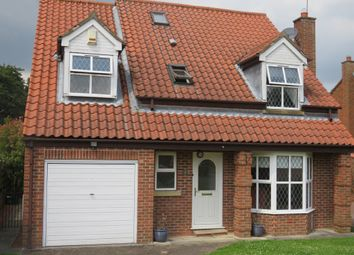 Thumbnail 4 bedroom detached house for sale in Pollard Close, Huntington, York