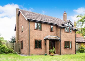 Thumbnail 4 bedroom detached house for sale in Normanby Road, Stow, Lincoln