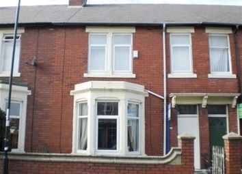 Thumbnail 4 bedroom terraced house to rent in Addycombe Terrace, Newcastle Upon Tyne