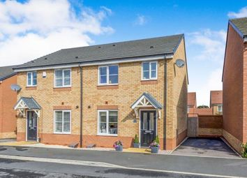 Thumbnail 3 bedroom semi-detached house for sale in Greenock Close, Thistleberry, Newcastle, Staffs