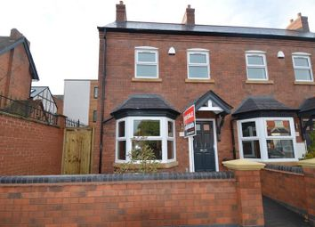 Thumbnail 3 bedroom end terrace house for sale in Woodville Road, Kings Heath, Birmingham