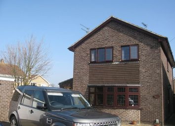 Thumbnail 4 bed detached house to rent in Lapwing Close, Bradwell, Great Yarmouth