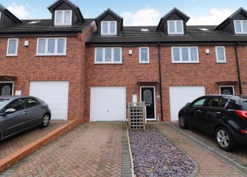 Thumbnail 3 bed mews house for sale in Trent View Grove, Hanley, Stoke-On-Trent