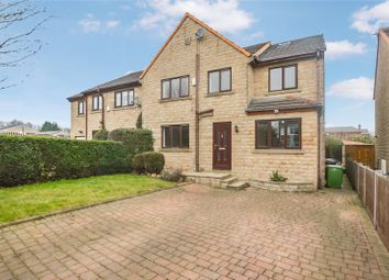 Thumbnail 6 bed semi-detached house for sale in Oliver Court, Drighlington, Bradford, West Yorkshire
