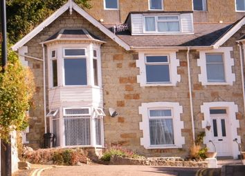 Thumbnail 1 bed flat to rent in Marlborough Road, Ventnor