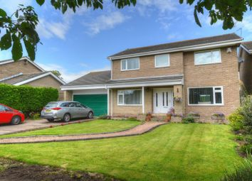 Thumbnail 4 bed detached house for sale in Lealands, Lesbury, Alnwick
