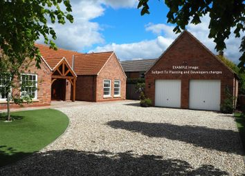 Thumbnail 3 bed detached bungalow for sale in Plot 3, The Old Orchard, Kirtons Lane, Long Bennington, Newark