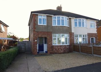 Thumbnail 3 bed semi-detached house for sale in Western Crescent, Lincoln