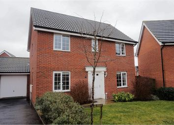 Thumbnail 4 bed detached house for sale in Curlew Close, Stowmarket