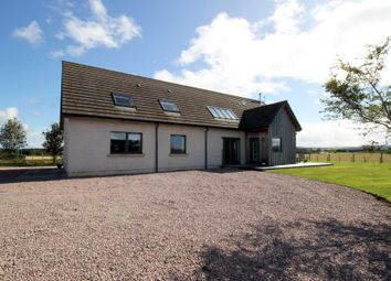 Thumbnail 5 bed detached house for sale in Moss Side, Nairn