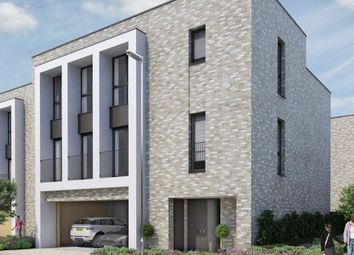 Thumbnail 4 bedroom terraced house for sale in The Rosselino At Aura, Long Road, Cambridge