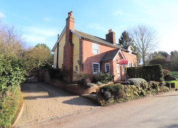 Thumbnail 4 bed cottage for sale in Stoke Road, Lower Layham, Ipswich, Suffolk