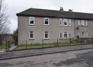 Thumbnail 3 bed flat for sale in Dalgleish Avenue, Clydebank