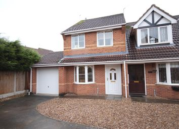 Thumbnail 3 bed semi-detached house for sale in Hollybrook Way, Littleover, Derby