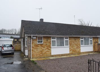 Thumbnail 3 bed semi-detached bungalow for sale in Salisbury Road, Werrington Village, Peterborough