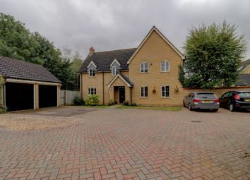 Thumbnail 4 bed detached house for sale in Wood Avens Way, Wymondham