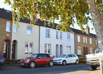 Thumbnail 3 bed terraced house for sale in Jessamy Road, Weybridge, Surrey