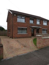 Thumbnail 3 bed semi-detached house to rent in Willisfield Gardens, Finaghy, Belfast