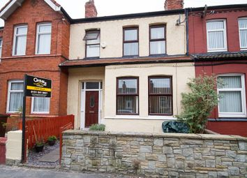 Thumbnail 3 bed terraced house for sale in Shaftesbury Road, Crosby