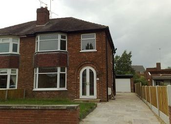 Thumbnail 3 bed semi-detached house to rent in Manor Way, Crewe