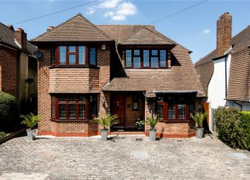 Thumbnail 4 bed detached house for sale in Wilton Grove, New Malden