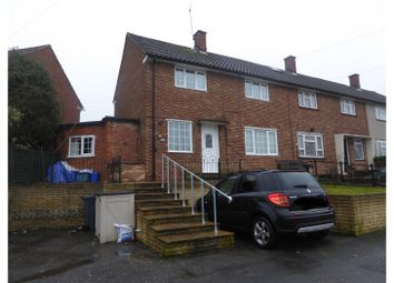 Thumbnail 3 bed end terrace house for sale in Headley Drive, New Addington, Croydon, Surrey