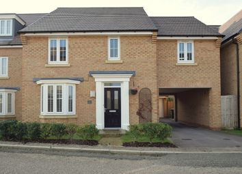 Thumbnail 4 bed detached house to rent in St. Peters Lane, Papworth Everard, Cambridge