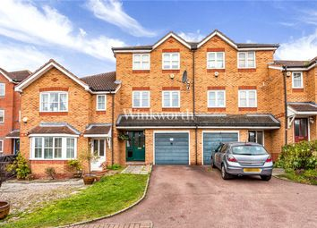 Thumbnail 4 bedroom town house for sale in Lampeter Close, Welsh Harp Village, London