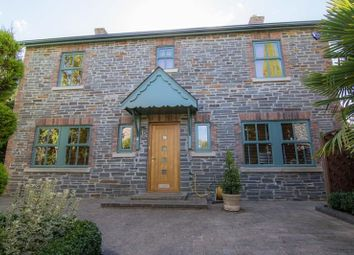 Thumbnail 4 bed detached house for sale in Church View, Llangattock, Crickhowell