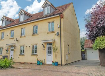 Thumbnail 4 bed end terrace house for sale in Byre Close, Cricklade, Swindon