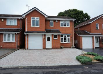 Thumbnail 4 bed detached house for sale in Primrose Gardens, Wolverhampton