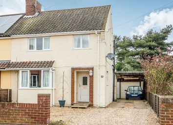 Thumbnail 3 bed semi-detached house for sale in Kimberley Road, North Walsham