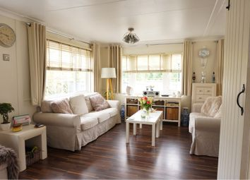 Thumbnail 2 bed mobile/park home for sale in Westhorpe Park, Marlow