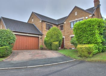 Thumbnail 4 bedroom detached house for sale in Steynton Close, Bolton