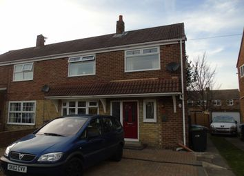 Thumbnail 3 bedroom semi-detached house for sale in Fair View, West Rainton, Houghton Le Spring