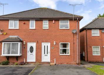 Thumbnail 2 bed semi-detached house for sale in Old Gorse Close, Crewe, Cheshire