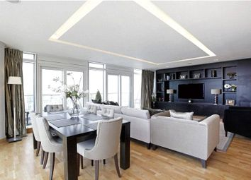Thumbnail 3 bed flat to rent in Ascensis Tower, Juniper Drive, London