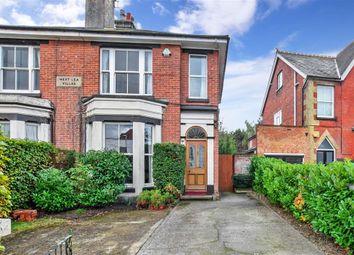 Thumbnail 3 bed semi-detached house for sale in West End, Marden, Tonbridge, Kent